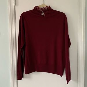 J. Crew Sweaters - J. Crew Tippi Sweater with Lace Collar